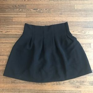 Perfectly pleated black skirt!